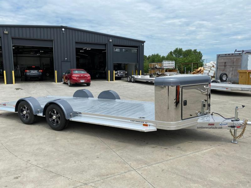 2021 Sundowner 6.9X22 Utility/Car Trailer
