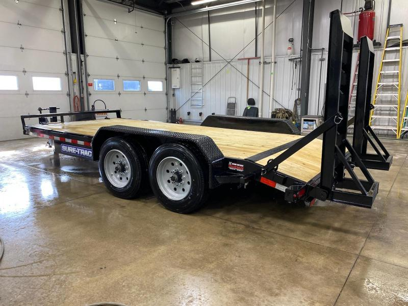 2021 Sure-Trac 7 x 16 (14+2) Equipment Trailer  16K