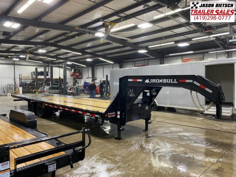 2021 Iron Bull 102x32 Tandem Axle  Gooseneck Trailer