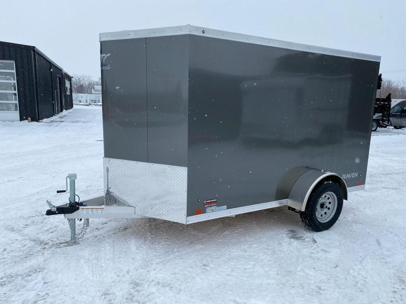 2021 ATC 6X10 ALUMINUM ENCLOSED CARGO TRAILER