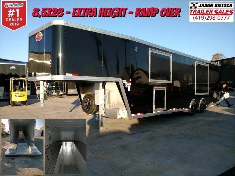2020 Sundowner 8.5x28 Extra Height Ramp Over Car/Race Trailer