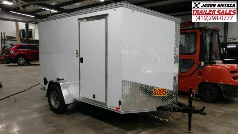 2021 United XLV 6X10 Slant/V-Nose Cargo Trailer