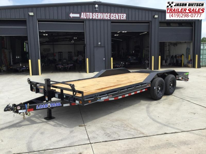 2021 Load Trail 102X20 Open Equipment/Car Trailer