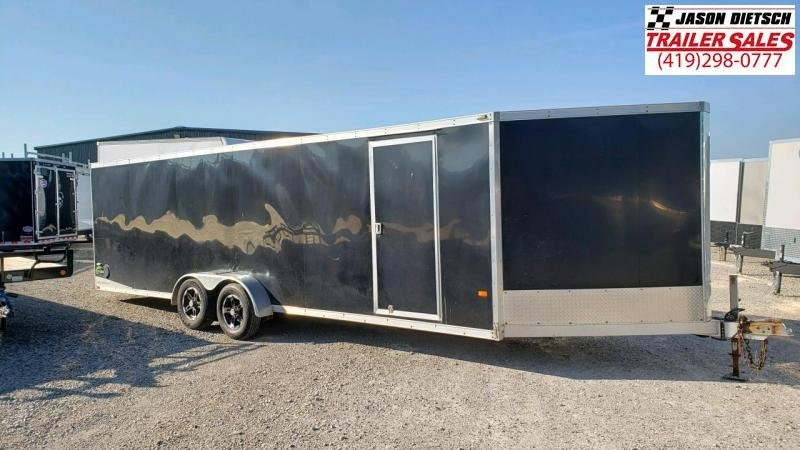 2012 NEO All Aluminum 7X28 Snowmobile Trailer