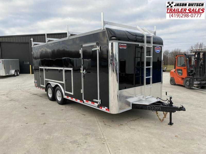 2021 United UXT 8.5x20 Enclosed Tool Crib Trailer