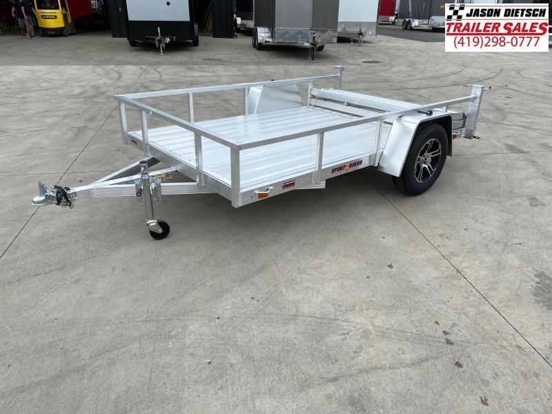 2021 Sport Haven 6X10 Aluminum Utility Trailer