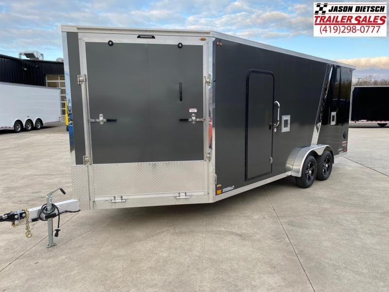 2021 Legend Explorer 7.5X23 Snowmobile Trailer Extra Height
