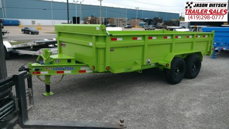 2020 Load Trail 83x16 Tandem Axle Dump Trailer