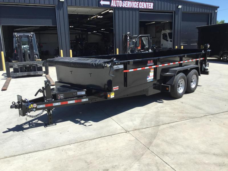 2021 BEHNKE 83x16 Tandem Axle Dump Trailer 14K