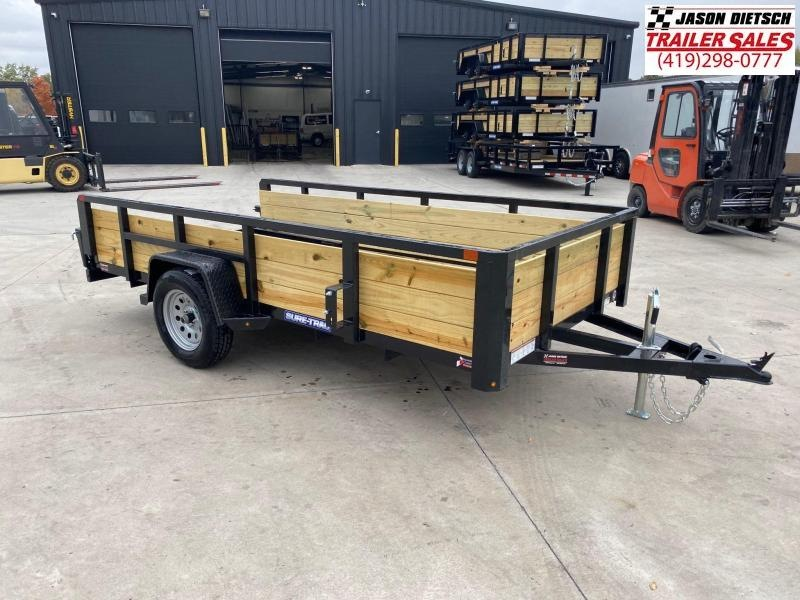 2021 Sure-Trac 6 x 12 Tube Top Three Board Trailer  3K