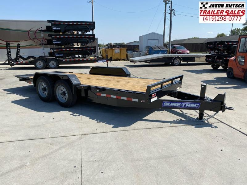 2021 Sure-Trac 7X18 Full Tilt Equipment Trailer 16K