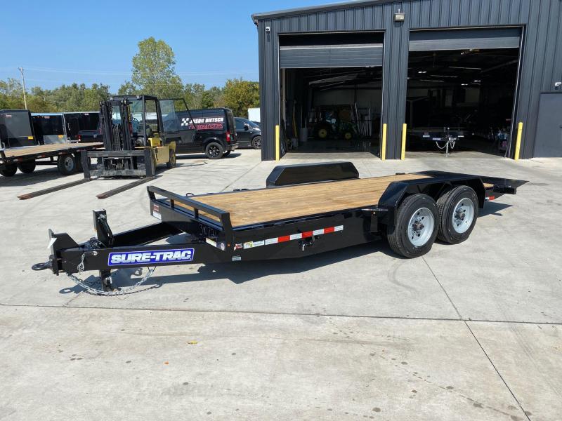 2021 Sure-Trac 7X18 Full Tilt Equipment Trailer 16K