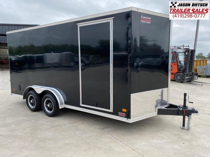 2020 Darkhorse 7.5x16 V-Nose Cargo Trailer Extra Height