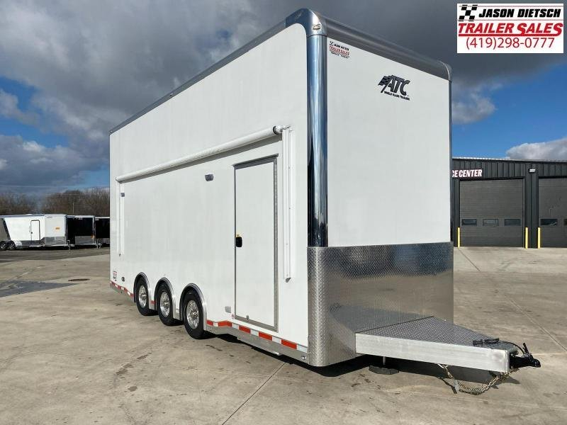 2019 ATC Quest ST305 8.5X24 Stacker Trailer