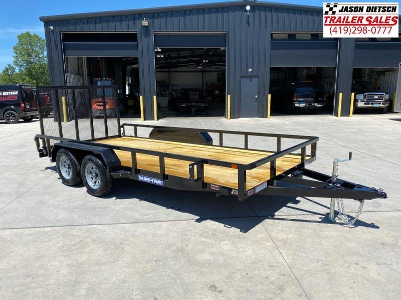 2020 Sure-Trac 7X16 Tube Top Utility Trailer