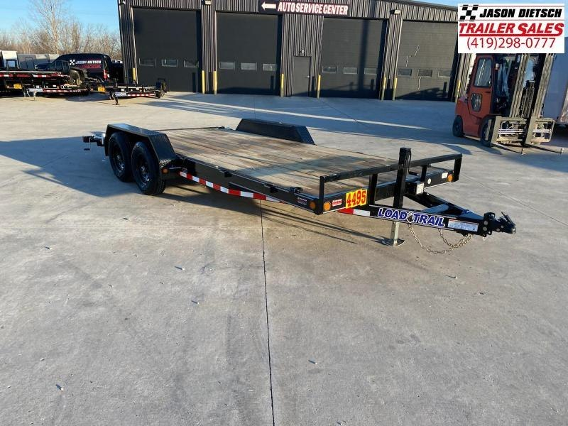 2021 Load Trail CP 83x18 W/ Dovetail Open Car Hauler Equipment Trailer 10K