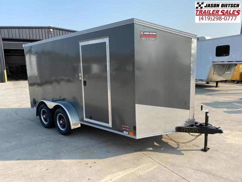 2021 United XLV 7x14 V-Nose Enclosed Cargo Trailer