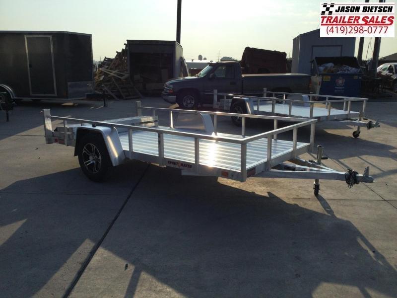 2022 Sport Haven 6X12 Aluminum Utility Trailer