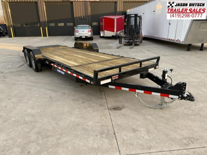 2021 Sure-Trac 7 x 18+4 Tilt Bed Equipment Trailer  14K