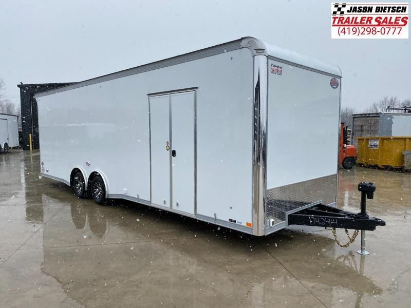 2021 United GEN4 8.5x28 Extra Height Car/Race Trailer