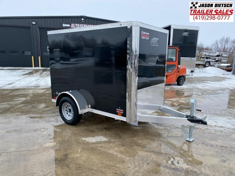 2021 ATC 5X8 ALUMINUM ENCLOSED CARGO TRAILER