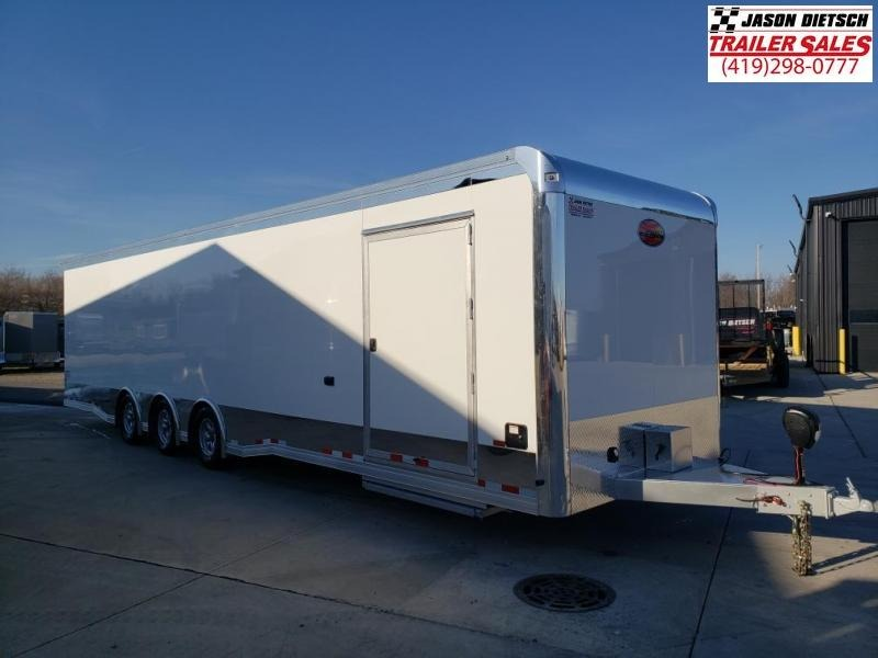 2021 Sundowner Race Series 8.5X34 Car/Race Trailer W/Bathroom Pkg.