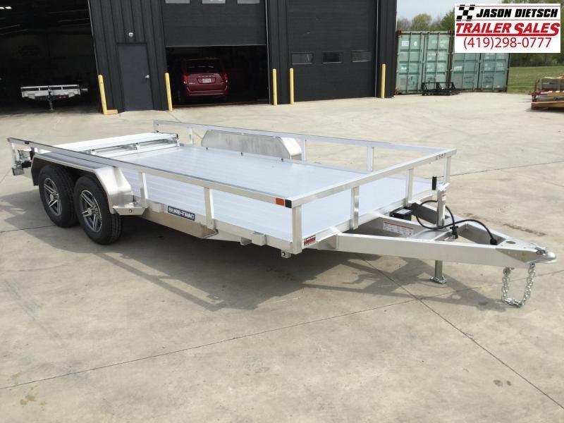 2021 Sure-Trac 7 X 16 Aluminum Tube Top  7K Tandem