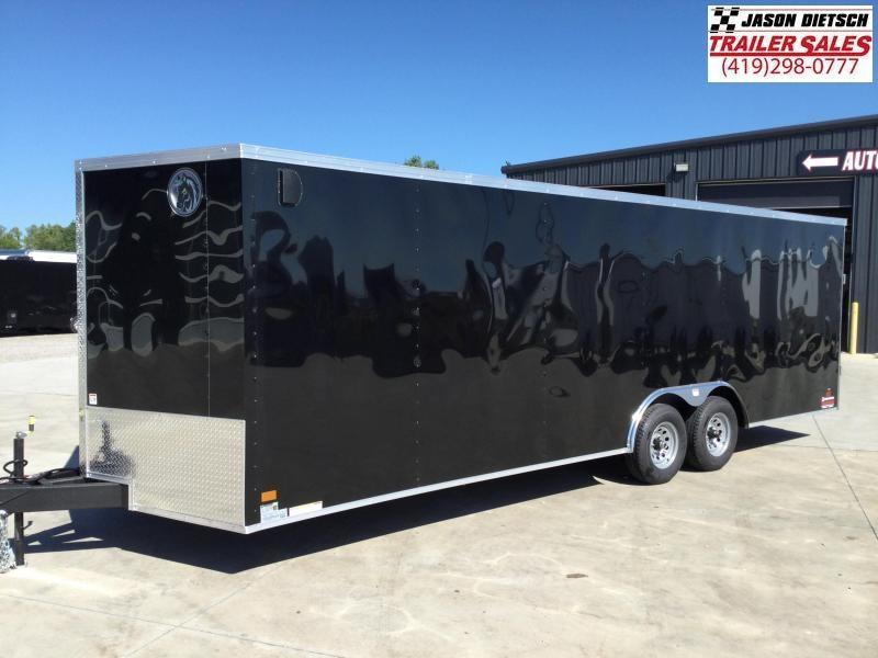 2022 Darkhorse 8.5X24 Race Trailer