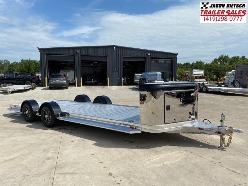 2021 Sundowner 6.9X24 Utility/Car Trailer
