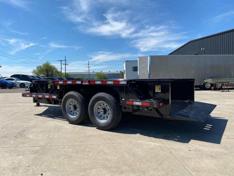 2020 Behnke 14K 76X14 Drop Down Equipment Trailer