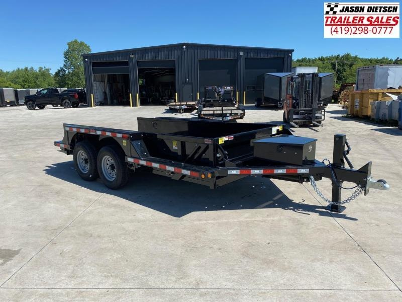 2020 Behnke 14K 76X14 Drop Down Equipment Trailer
