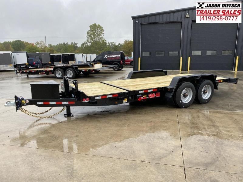 2020 Behnke 83X20 (16+4) Tilt Equipment Trailer 20K