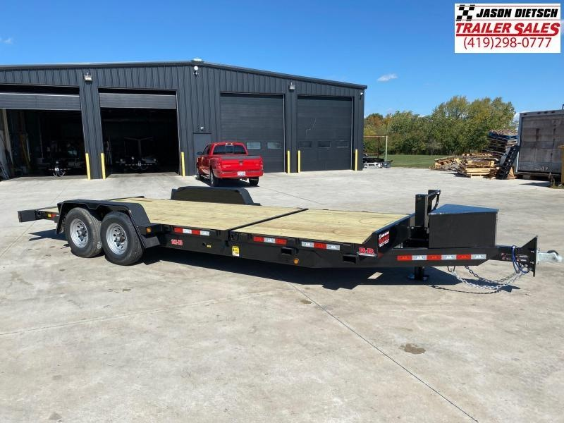 2020 Behnke 83X22 (16+6) Partial Tilt Equipment Trailer