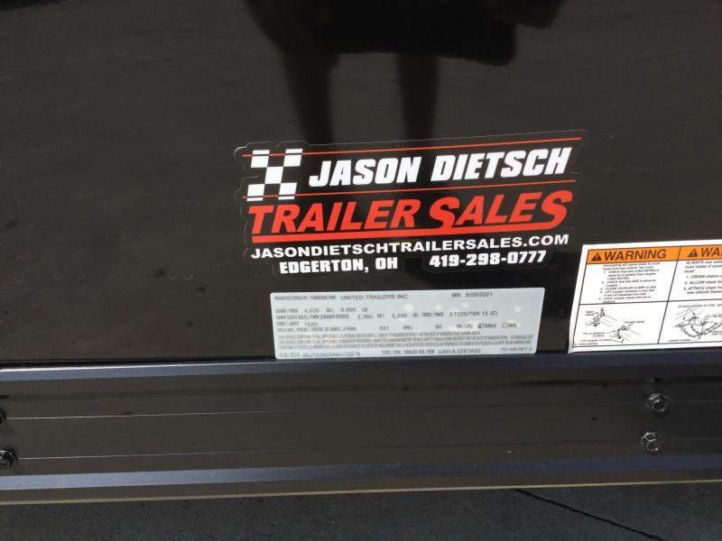 2022 United GEN4 8.5x28 Car/Race Trailer *BLACK OUT PKG