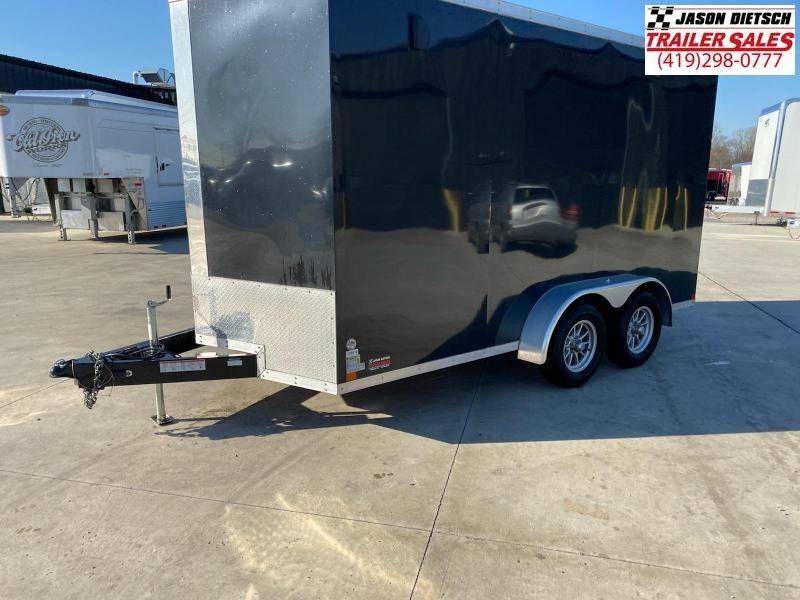 2018 Sure-Trac 7x14 Extra Height V-Nose Enclosed Cargo Trailer