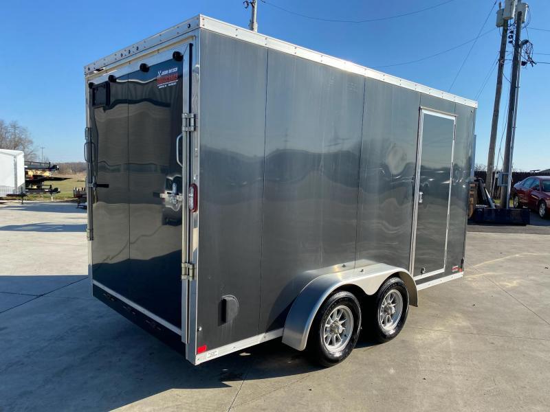 2018 Sure-Trac 7x14 Extra Height V-Nose Enclosed Cargo Trailer