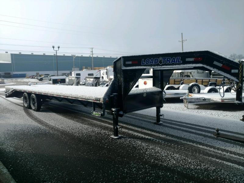 2021 Load Trail 102X28 Tandem Heavy Duty Gooseneck Equipment Trailer
