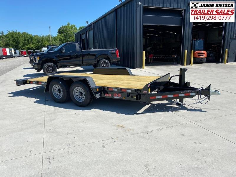 2020 Behnke 83X18 Full Tilt Equipment Trailer 14K