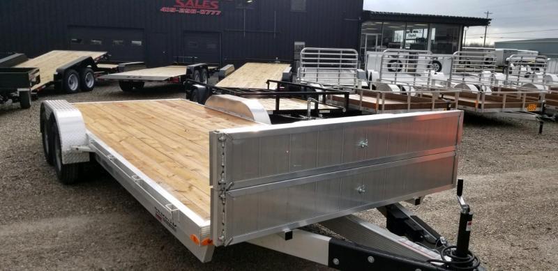 2020 Legend 7x20 Open Car Hauler All Aluminum Tandem Axle ....Stock#LG-317582