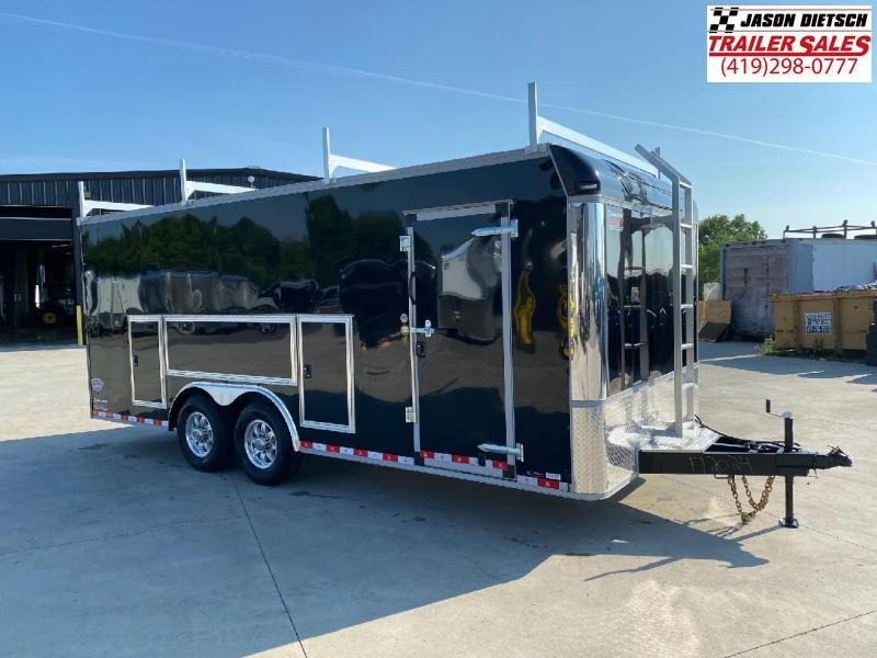 2021 United UXT 8.5x20 Tool Crib Trailer