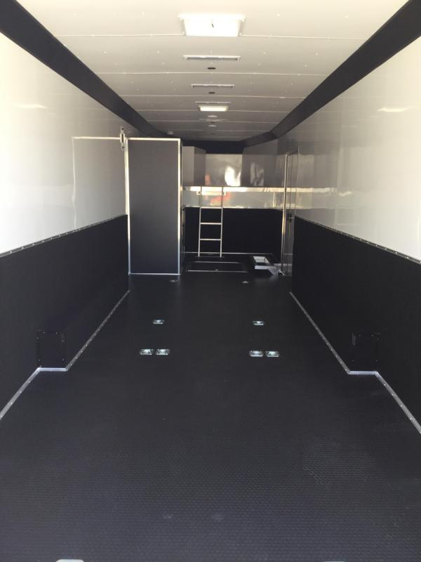 """2019 United 8.5X36 Car/Race Trailer 12"""" Extra Height"""