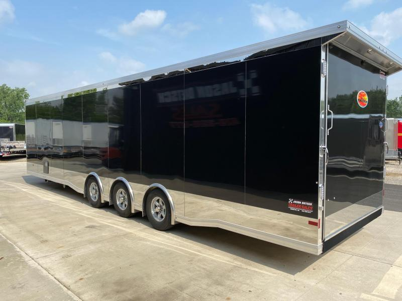 2021 Sundowner 8.5X34 Car/Race Trailer W/Bathroom Pkg.