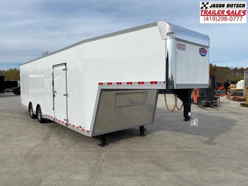 """2021 United UXGN 8.5X36 Car/Race Trailer 12"""" Extra Height"""