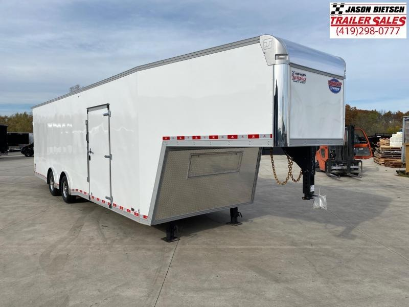 "2021 United UXGN 8.5X36 Car/Race Trailer 12"" Extra Height"