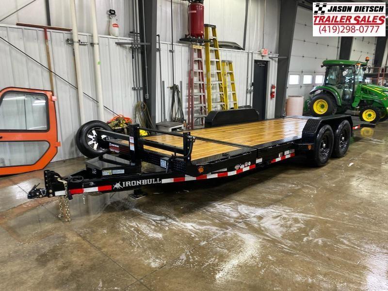 2021 IRON BULL 83X20 Tilt Deck Open Equipment/Car Trailer