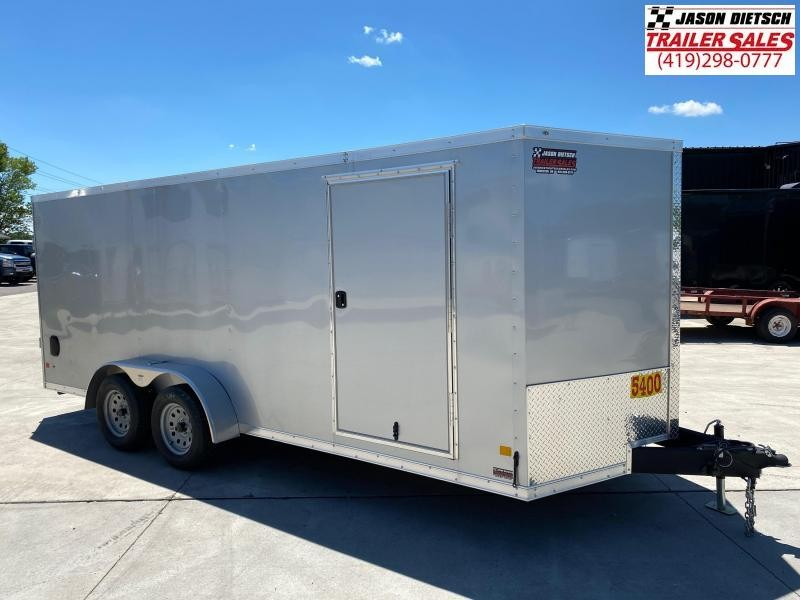 2020 Darkhorse 7x18 V-Nose Cargo Trailer
