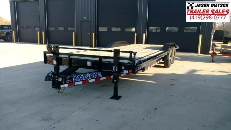 2021 Load Trail 102X24 Open Equipment/Car Trailer