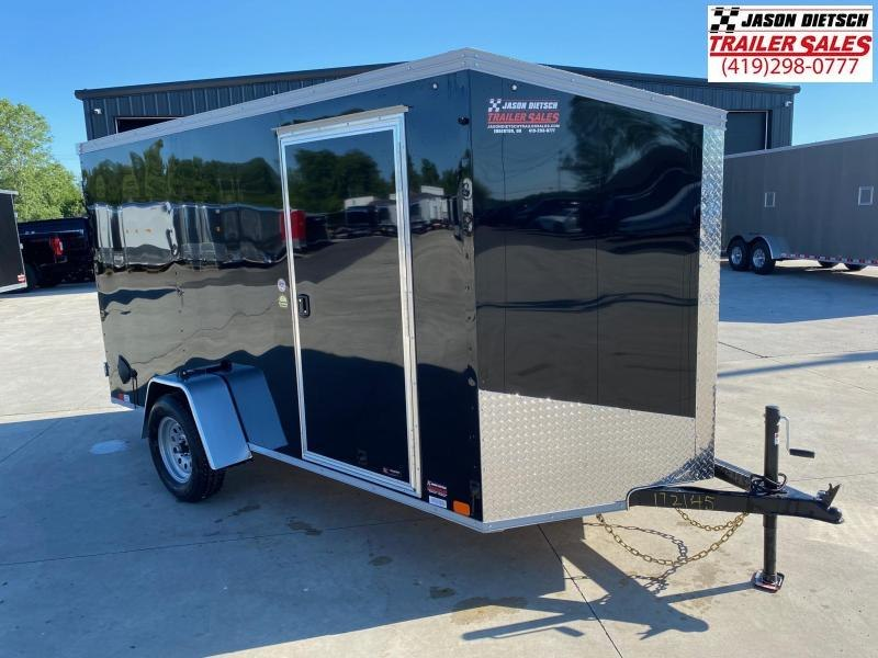 2021 United XLV 6X12 V-Nose Slant Enclosed Cargo Tr....Stock# UN-172145