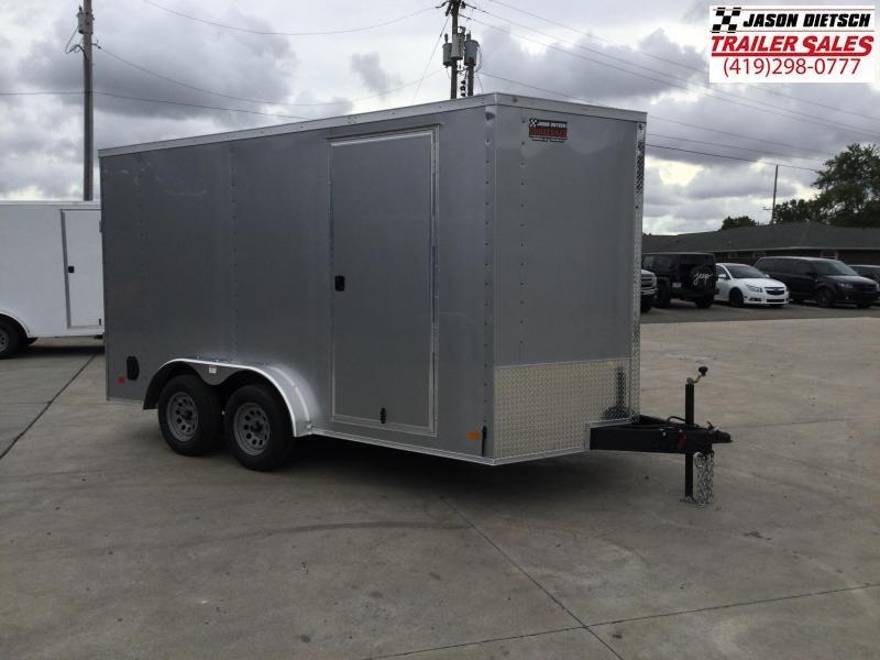 2022 Darkhorse DHW 7.5X14 Extra Height Wedge Nose Cargo Trailer