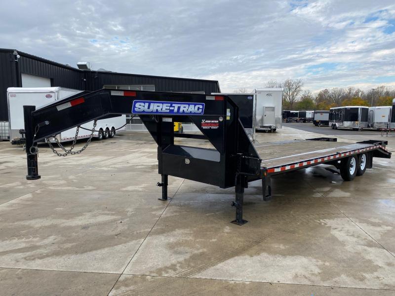 2015 Sure-Trac 102X25 Low Pro Deckover Gooseneck